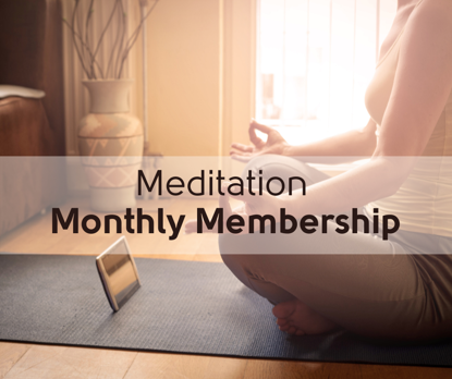 Picture of Mindfulness Meditation - Monthly Membership (4 Sessions)